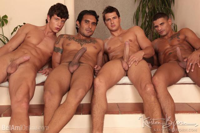 Sex City Parts 1& 2 Brandon Manilow, Benjamin Bloom, Lucio Saints & Nicolas Taxman