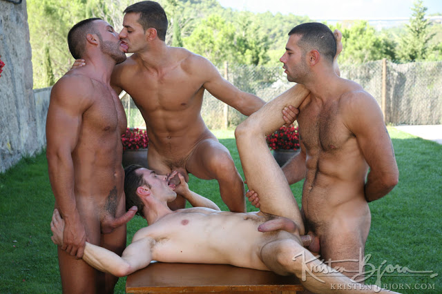 Justin Harris, Nacho Valente, Augusto Figueroa & Donato Reyes