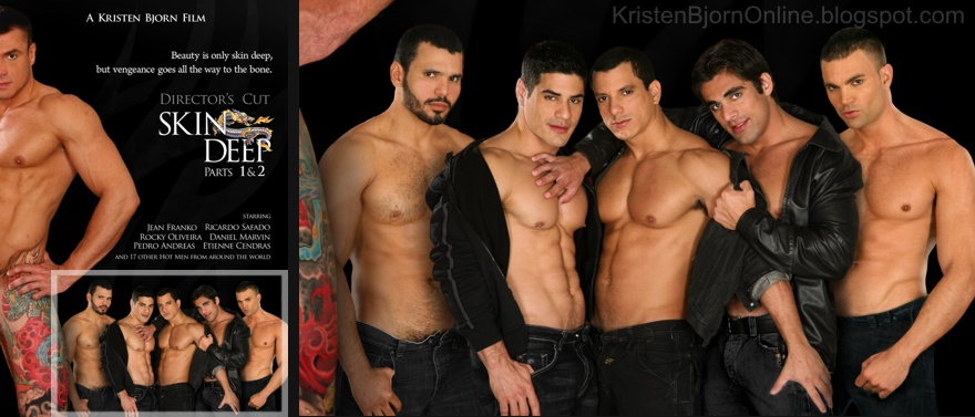 """6 guys on the cover of """"Skin Deep"""""""