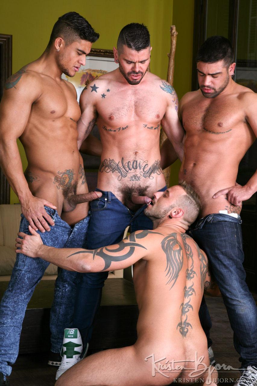 Men in the City – Skyline: Diego Lauzen, Wagner Vittoria, Antonio Miracle, Mario Domenech