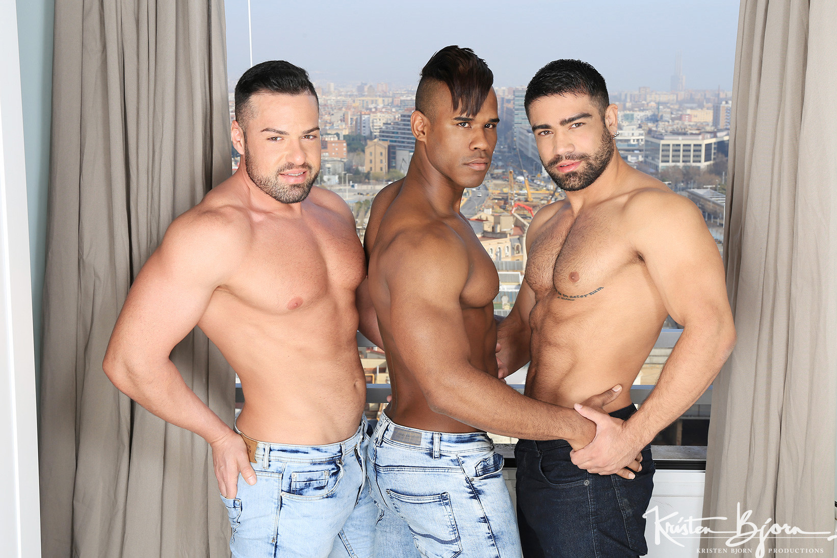 3 Is Company: Gabriel Lunna, Ridder Rivera, Wagner Vittoria